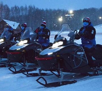 Снегоходы Frontier на Кубке Европы по фристайлу